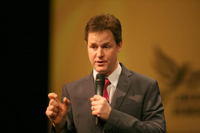 Former deputy PM Sir Nick Clegg to be knighted today https://t.co/UtIQW8aZU3