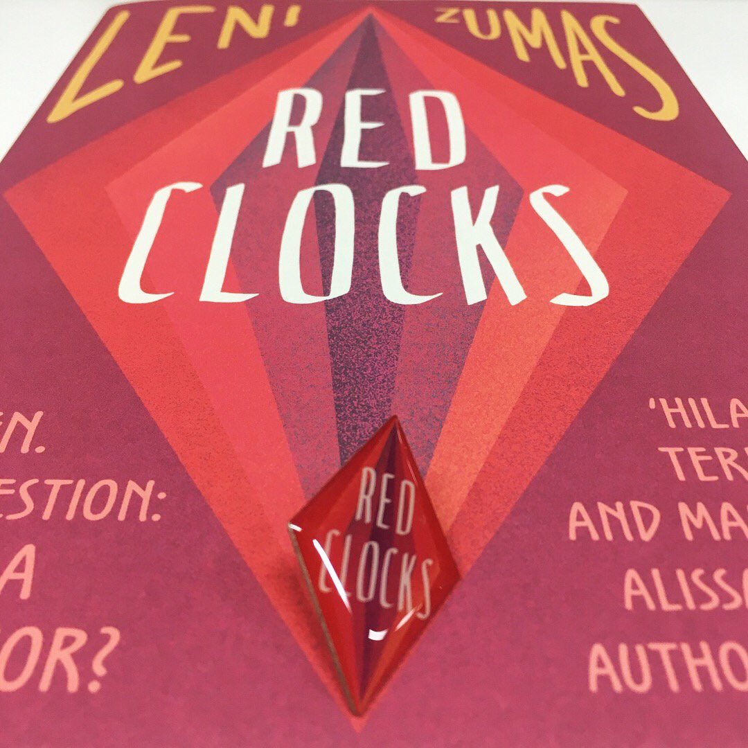 Perfect for #InternationalWomansDay, @lenizumas' #RedClocks is out today!
