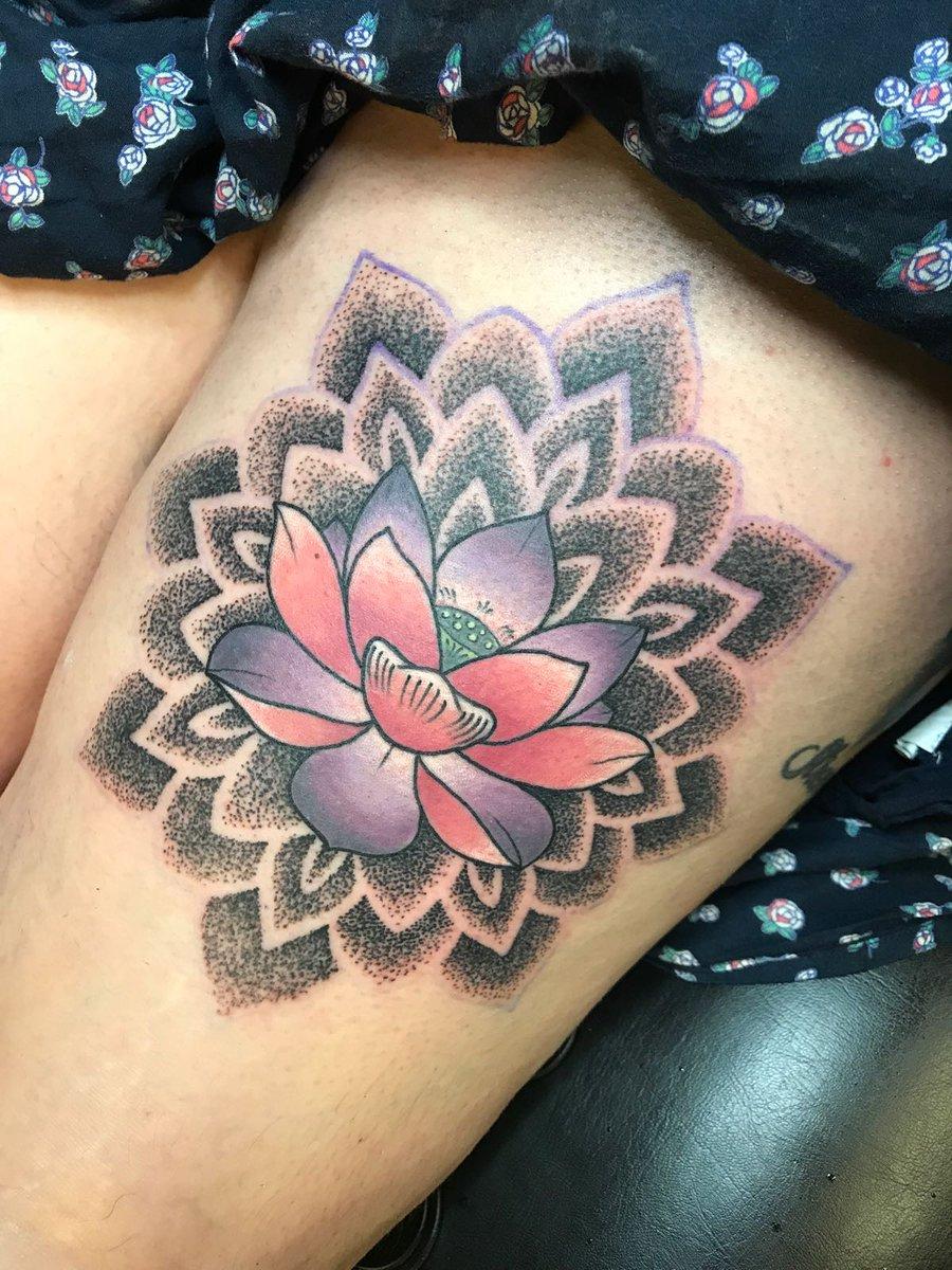 Carpe M Tattoo On Twitter Lotus