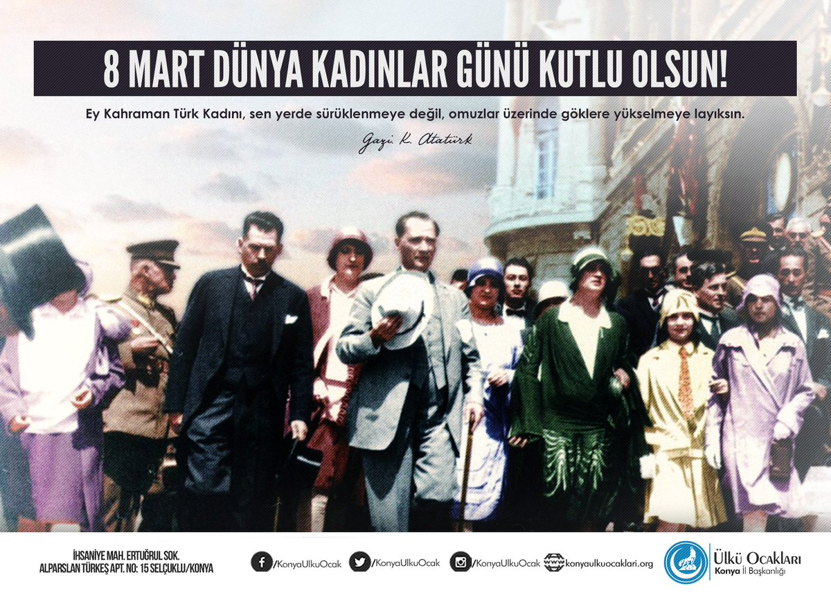 Konya ülkü Ocakları On Twitter Ey Kahraman Türk Kadını Sen Yerde