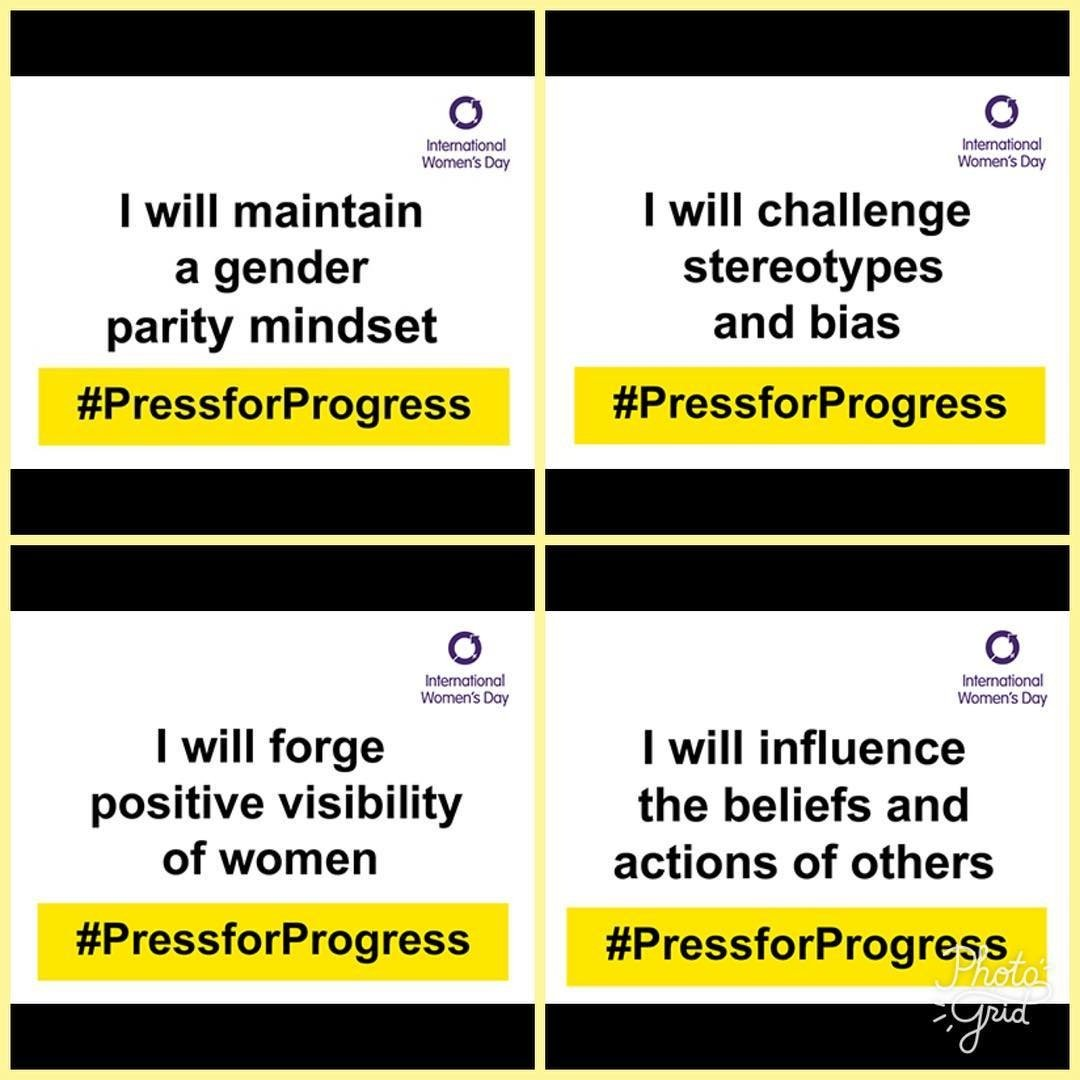 Happy International Women's Day. #PressF...