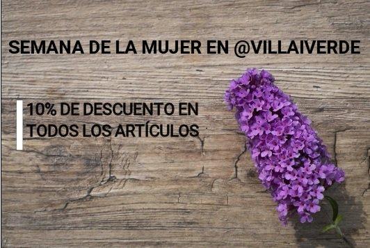 Semana de la mujer en @villaiverde  10%...
