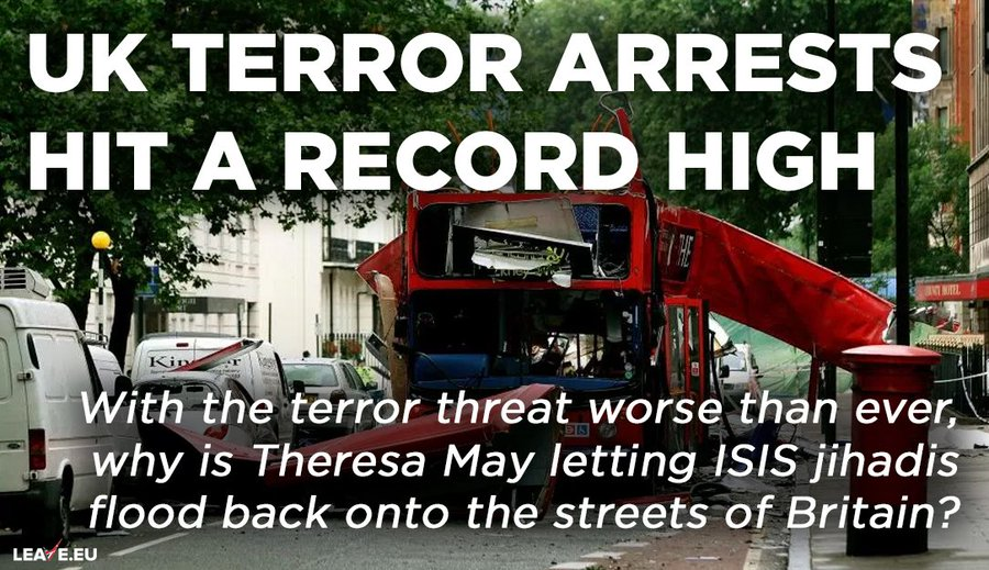 Image result for ISIS theresa leaveeu