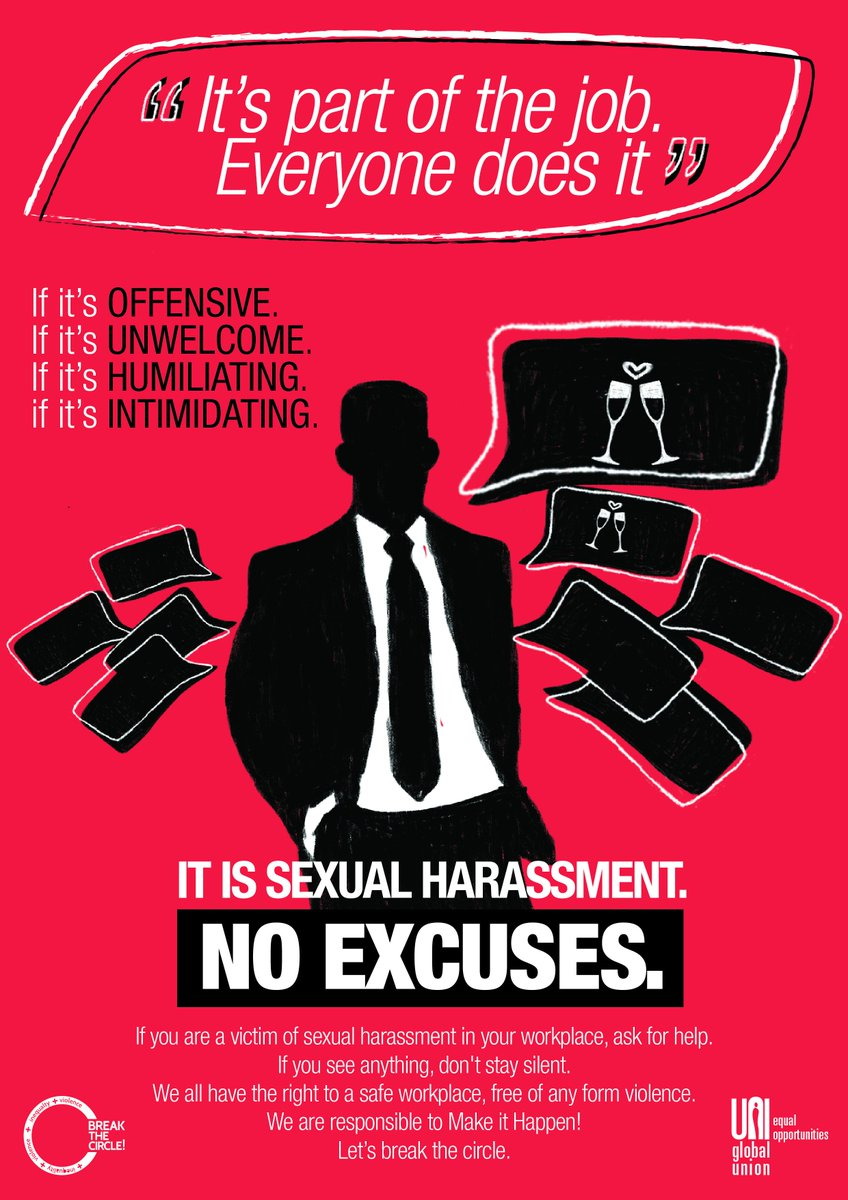 Sexual harassment poster free