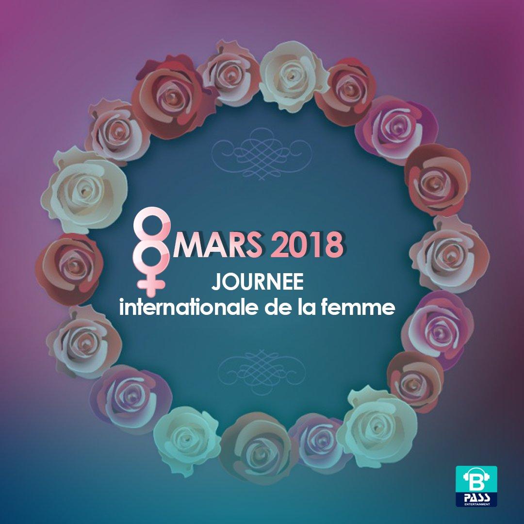 Bonne journée internationale de la femme...