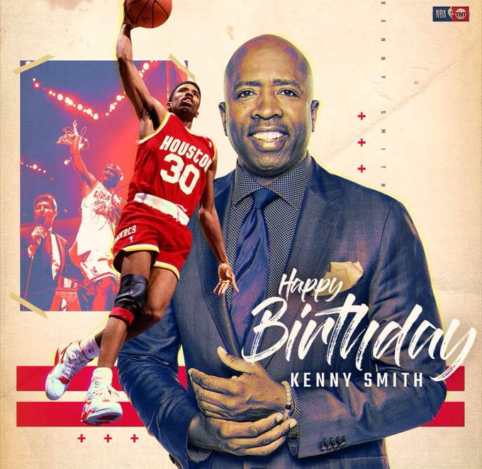Feliz cumpleaños- Happy Birthday Kenny Smith