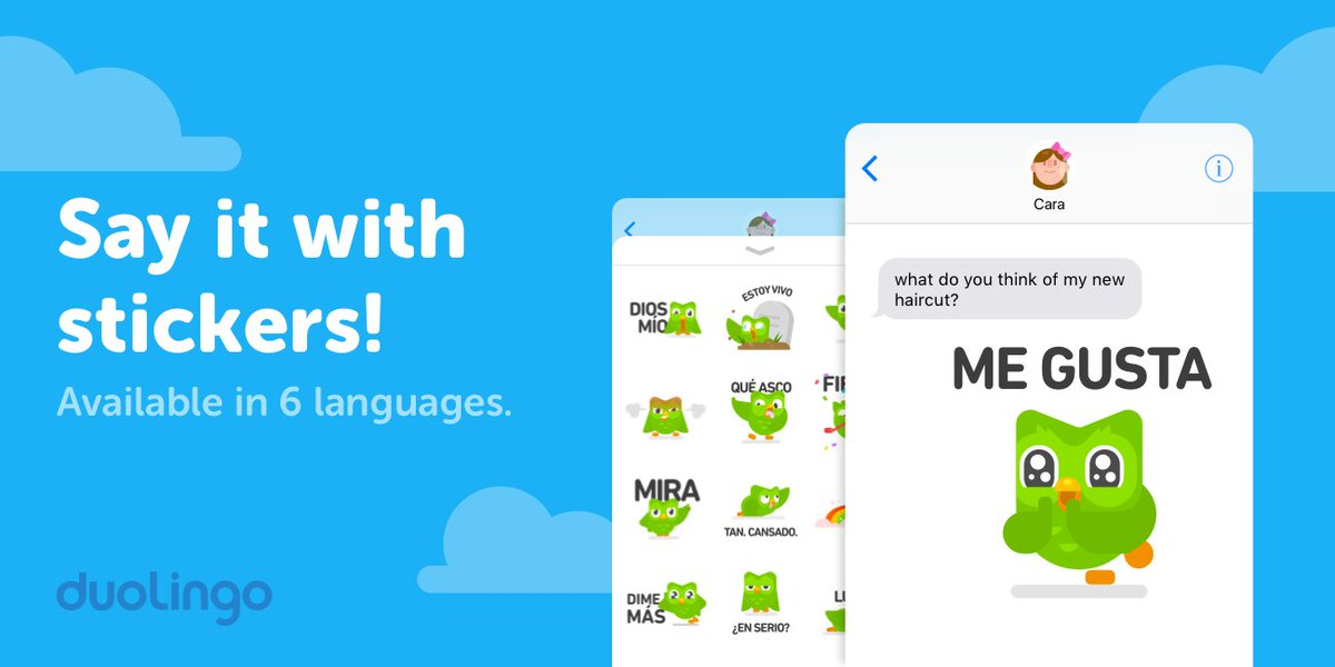 Duolingo on twitter when words and emojis arent enough express now available on ios for english spanish french german portuguese and japanese learners update to the latest version of duolingo in the appstore to solutioingenieria Image collections