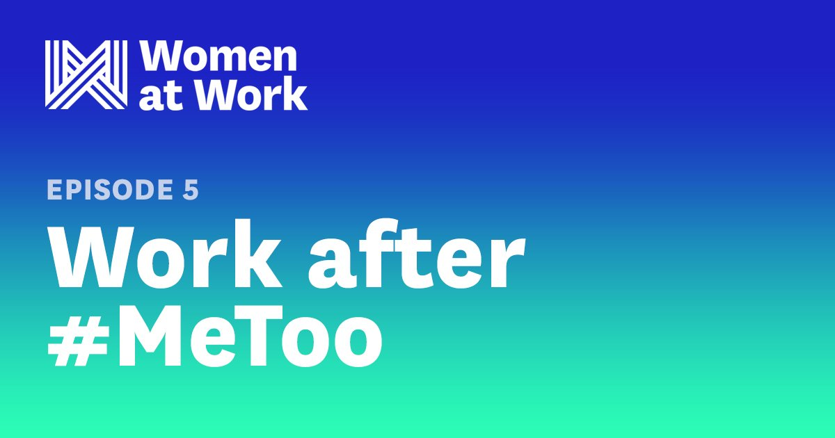Sexual harassment is one of many challenges women face that keep them from advancing at work https://t.co/RzWw2dIZ4V https://t.co/NKjon30WpP
