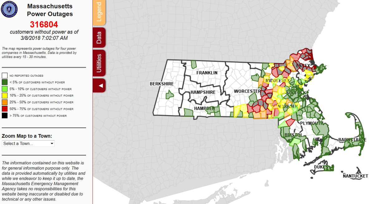 Mass Power Outage Map.Mema Power Outage Map Time Zone Map