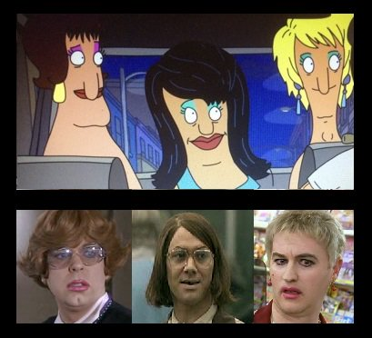 I can't believe I never spotted this cheeky cameo from the League of Gentlemen in the first series of #BobsBurgers before...... @SP1nightonly @ReeceShearsmith @Markgatiss