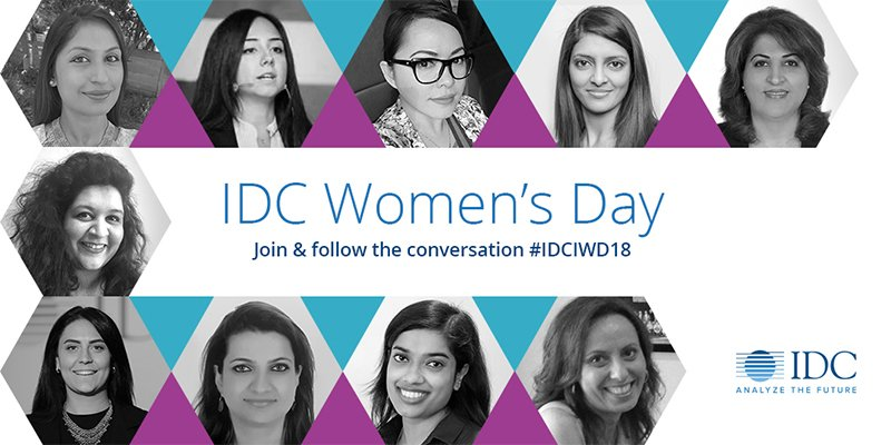 #IDC honoring and celebrating #women in...
