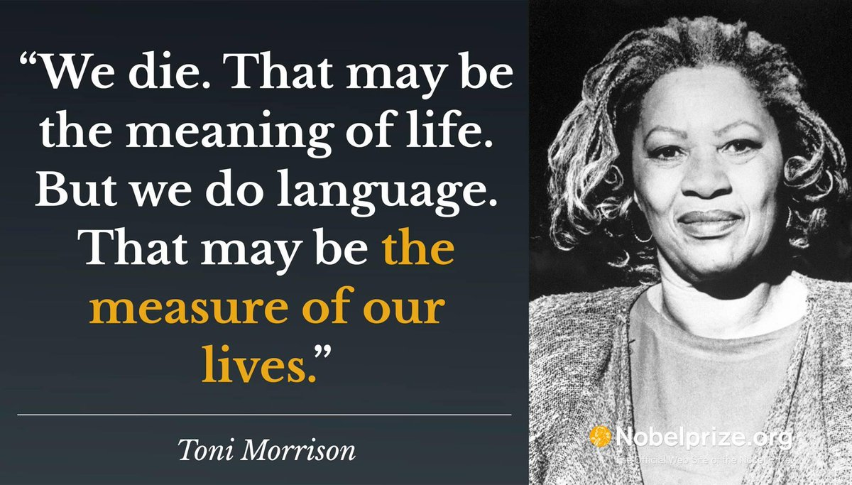 Nobel Laureate Toni Morrison is one of the most powerful and influential literary forces of our time. #IWD2018