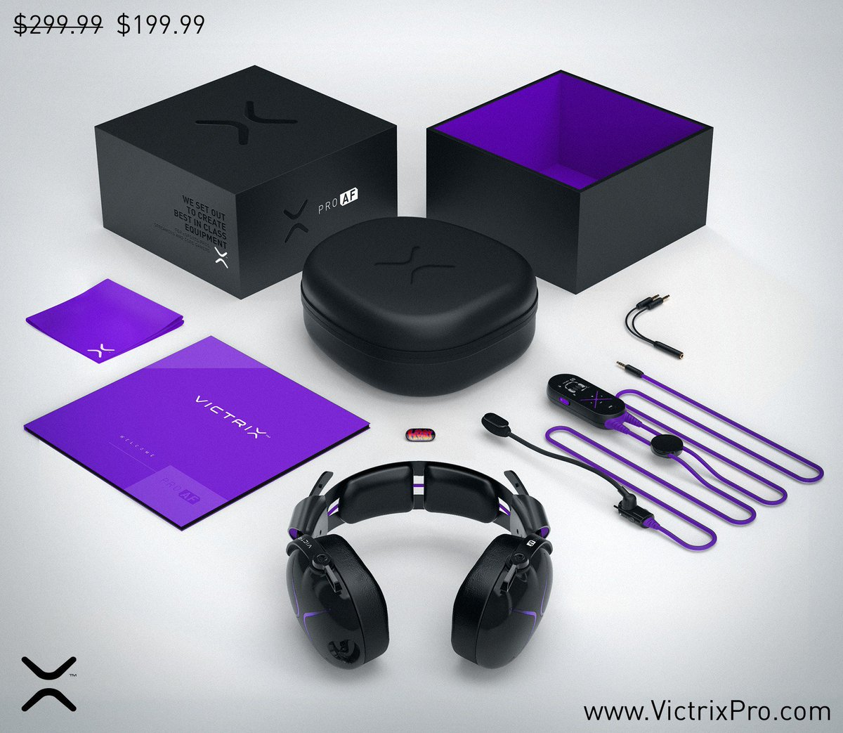 WE ARE OPEN!!! You can now preorder your Victrix Pro AF at victrixpro.com. Preorders get $100 off while supplies last. (Normally priced at $300)