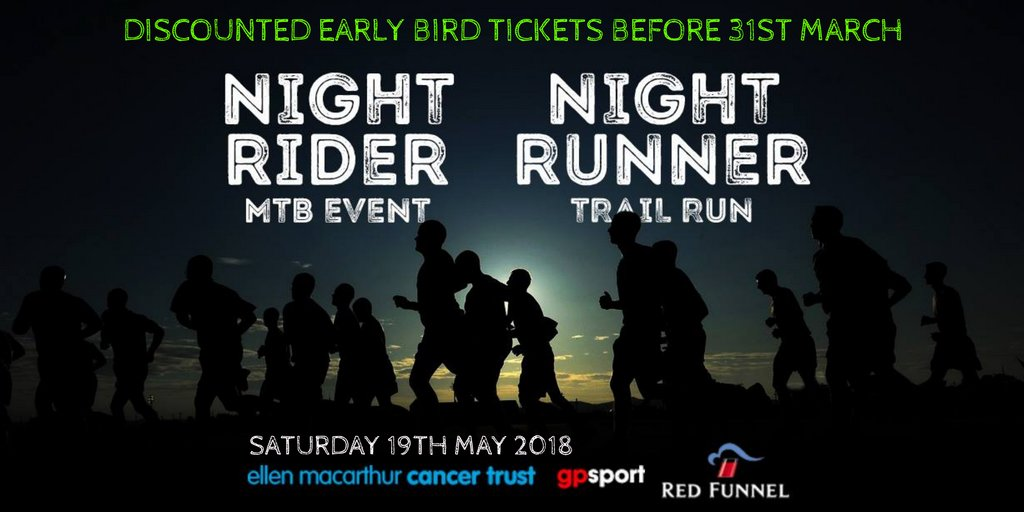 DON'T MISS OUT - EARLY BIRD DISCOUNTED TICKETS ENDS MARCH 31st! Book your place now for an action-packed weekend full of trail running and mountain biking events - free onsite wild camping. https://t.co/ZtTao7cJxp