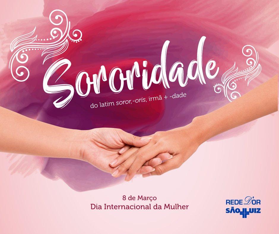 Hoje é o Dia Internacional da Mulher! Conheça a campanha da Rede D'Or São Luiz para esta data especial: https://t.co/grPDhtFwJd