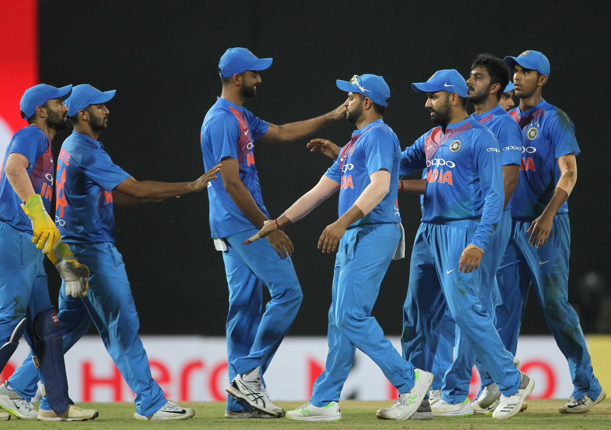 #TeamIndia win the 2nd T20I against Bangladesh by six wickets. #INDvBAN