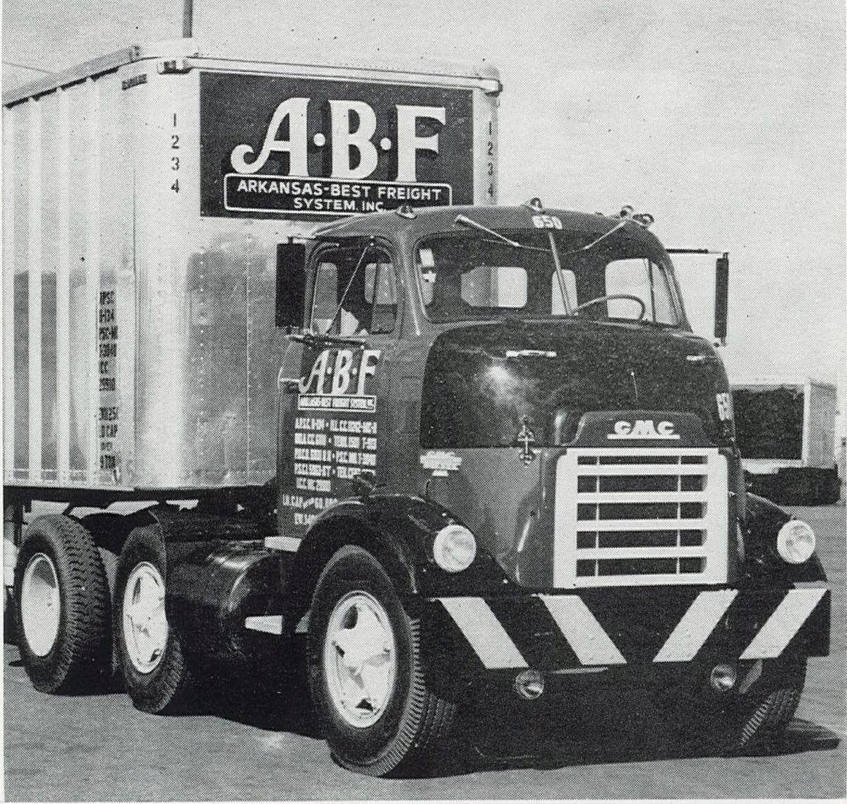 "ABF Freight on Twitter: ""Throwback Thursday: In 1957, Arkansas-Best Freight System (now known as ABF Freight) added 82 GMC DF 869 tractors to its fleet."