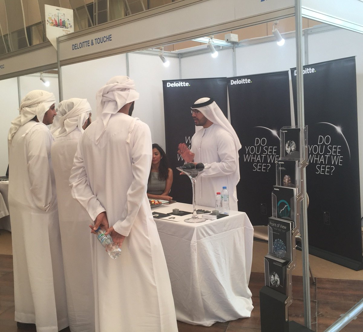 Deloitteme Jobs On Twitter Deloitte Professionals Took Part In This Year S Zayeduniversity Career Fair Abu Dhabi Campus And Answered All Questions That The Attendees Had Impactthatmatters Deloittecareers Uae Https T Co Gf8gxm4msg