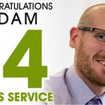 Congratulations to our Underwriter Adam Seed who celebrates 14 years with Thistle