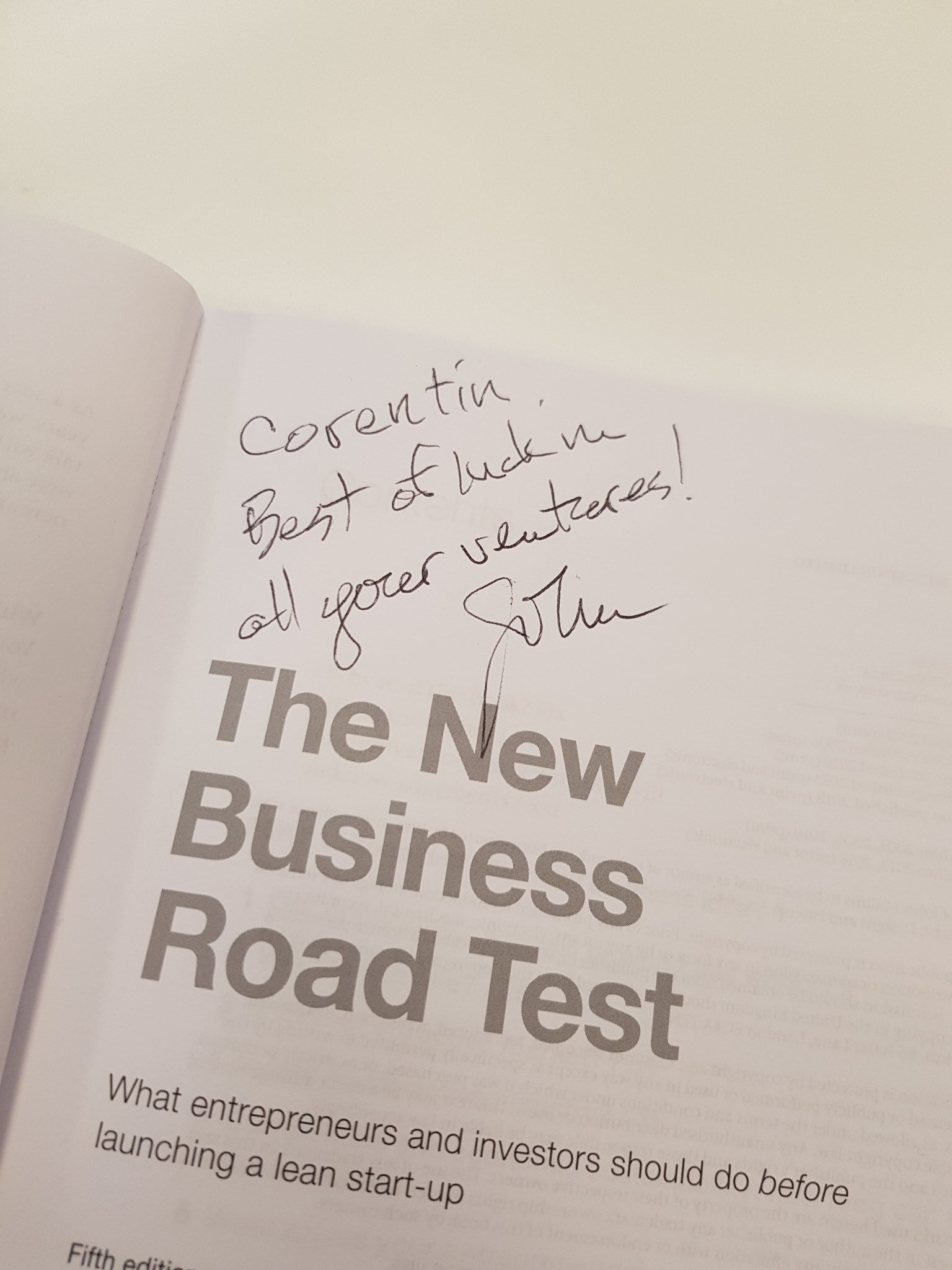 the new business road test what entrepreneurs and investors should do before launching a lean startup 5th edition