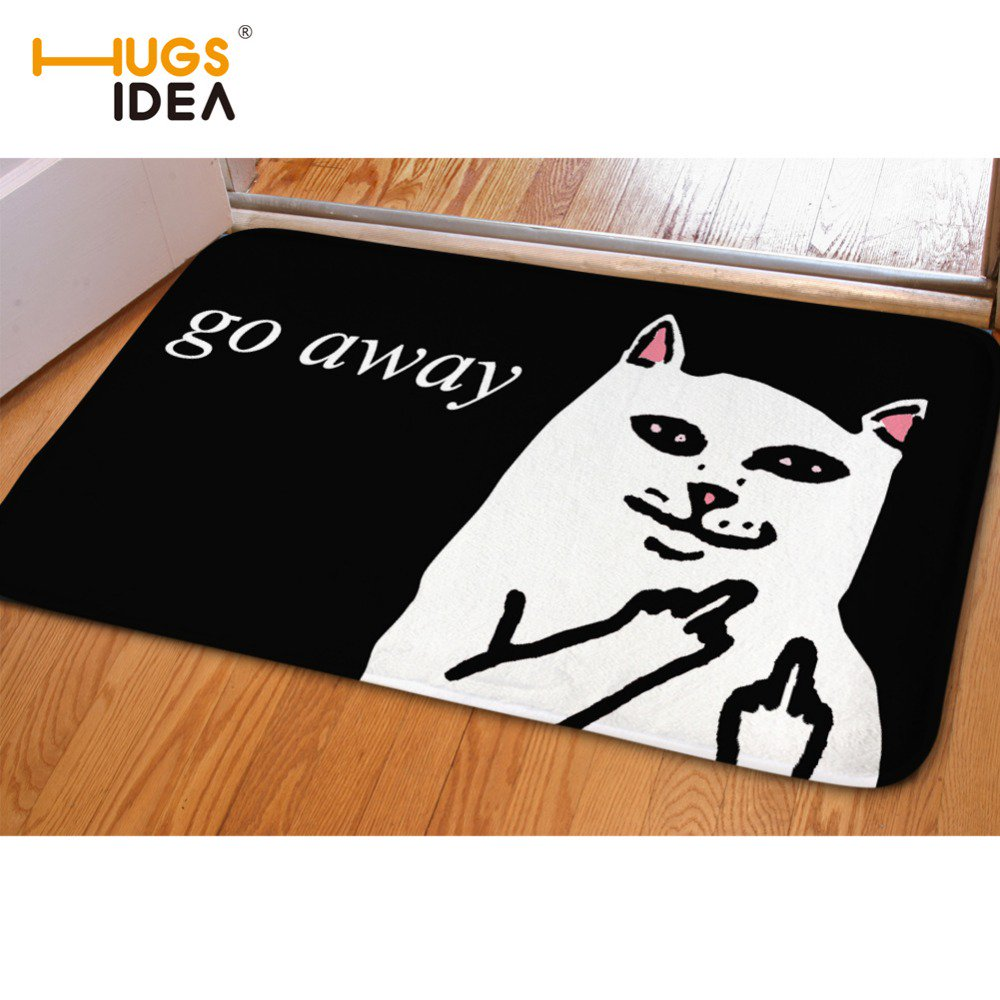 not mat rug cat welcome again wooden semi round door decoration doormat outdoor circle mats front half you rubber small