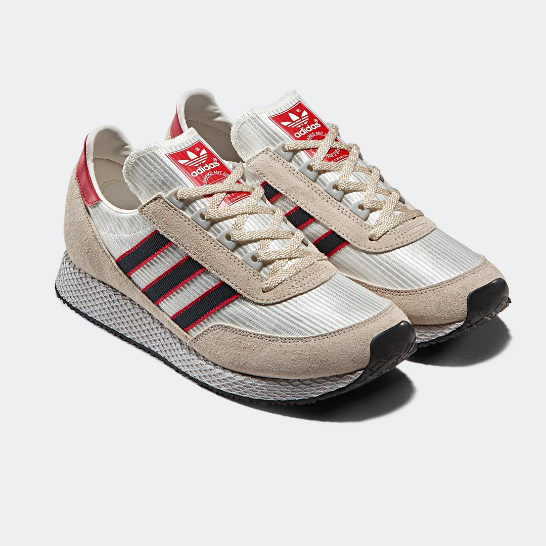 best cheap 34069 89290 adidas Originals x SPEZIAL Glenbuck SPZL (Clear Brown) releases with us  March 9th. ...