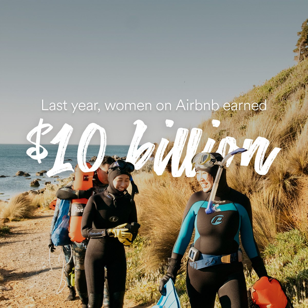Women make up the majority of the Airbnb host community.   We are proud to share some of their accomplishments. https://t.co/MADsBg98wK