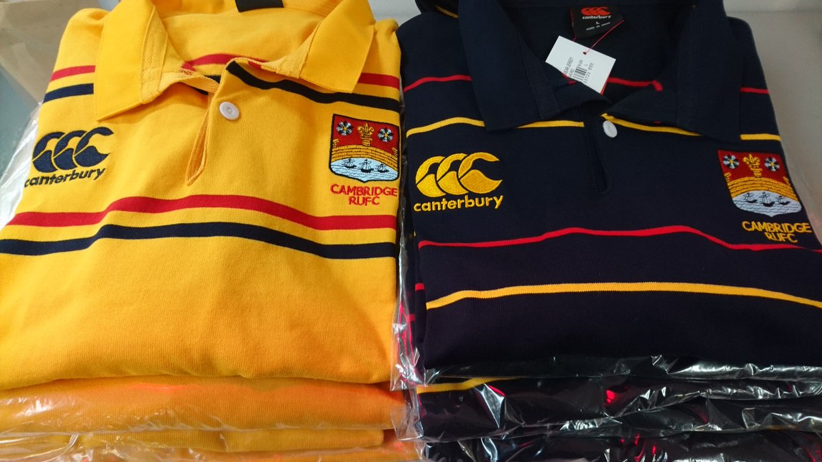139bb9c607ad We are pleased to announce two new tops ready to be purchased this weekend  at the  camrufc club shop! These rather smashing  canterburyNZ polos are  the ...