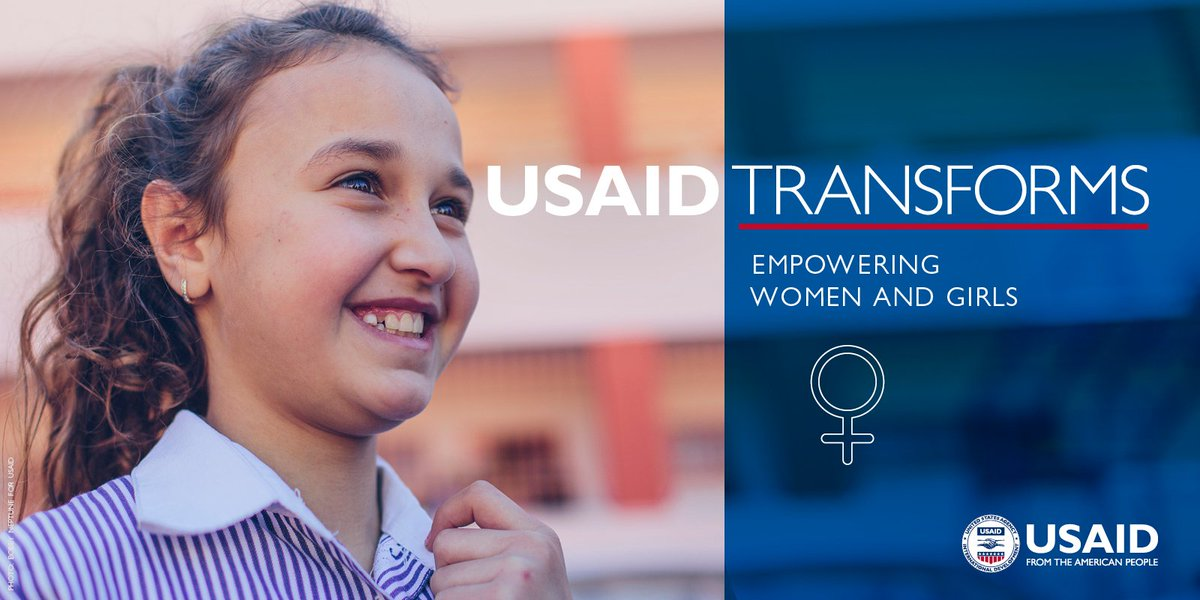 #USAIDTransforms families, communities and countries by empowering women and girls. #IWD2018 https://t.co/dqWRLPK6JE
