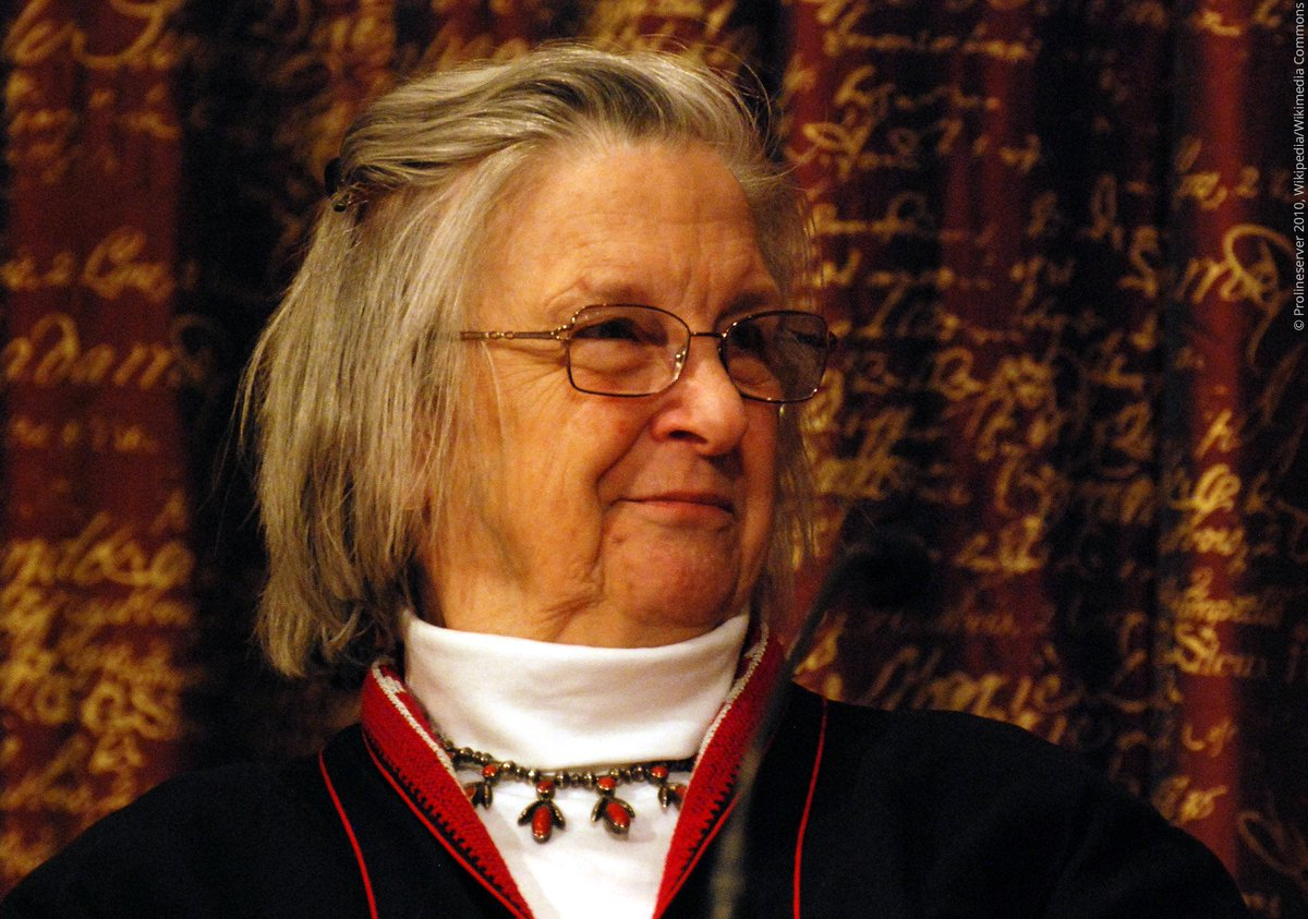Elinor Ostrom was turned away when she applied for a PhD in Economics - her subsequent doctorate is actually in political sciences. Despite this, Ostrom became the first woman to be awarded the Prize in Economic Sciences, for her work on human cooperation and shared resources.