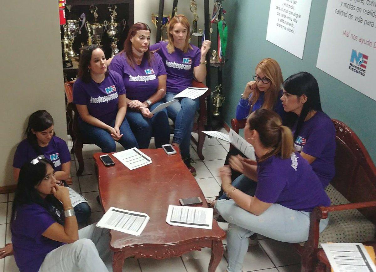 Nuestra Escuela continúa solidaria con la jornada del Día Internacional de la Mujer Trabajadora. #NosotrasParamos #ConstruyamosOtraVida #8M #NuestraEscuela #NosotrasEducamos
