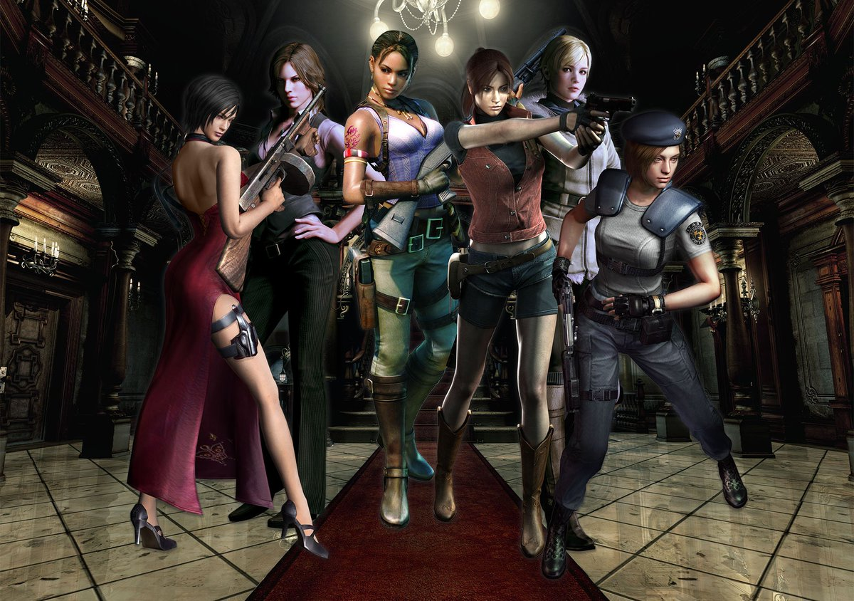 Happy #InternationalWomensDay! From fighting Bio Organic Weapons to toppling evil organizations, the ladies of Resident Evil know how to get things done.