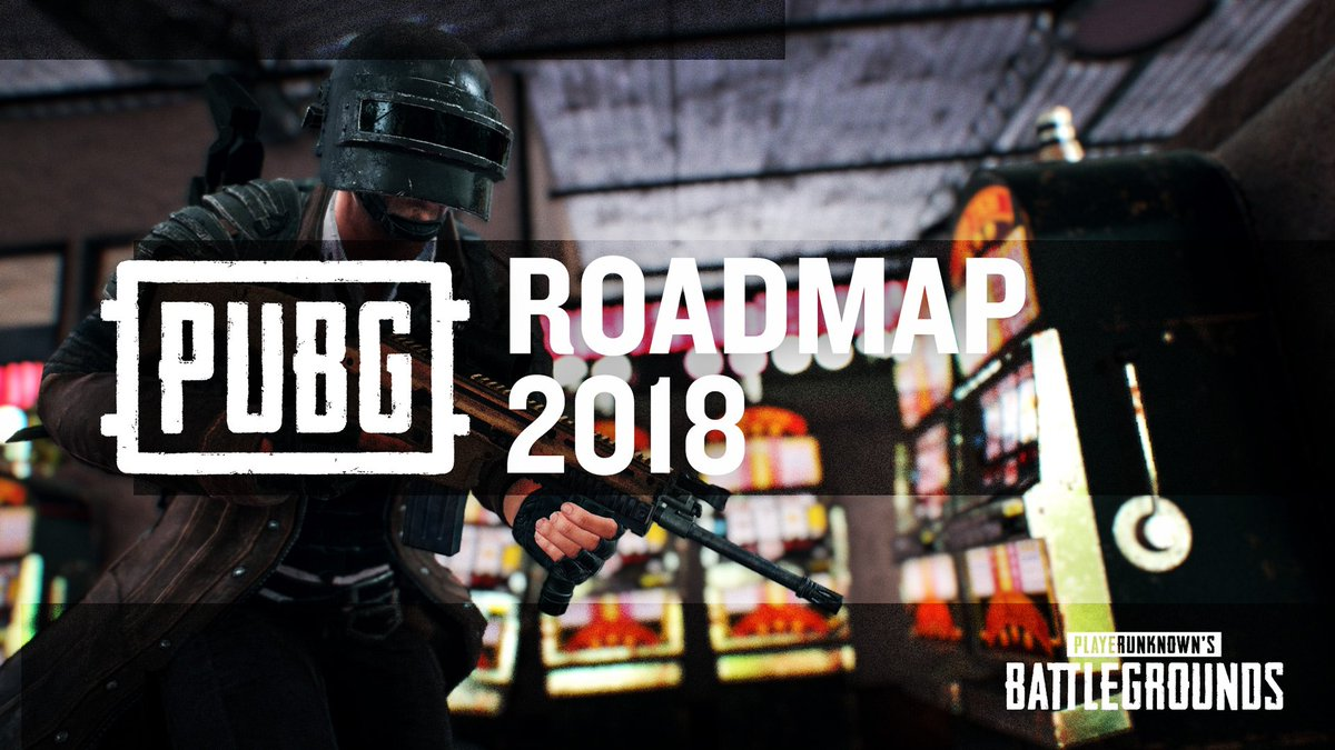 We are finally ready to share our vision for how PUBG will evolve in 2018 and beyond. Read the development roadmap blog now: playbattlegrounds.com/news/130.pu #ThisIsBattleRoyale