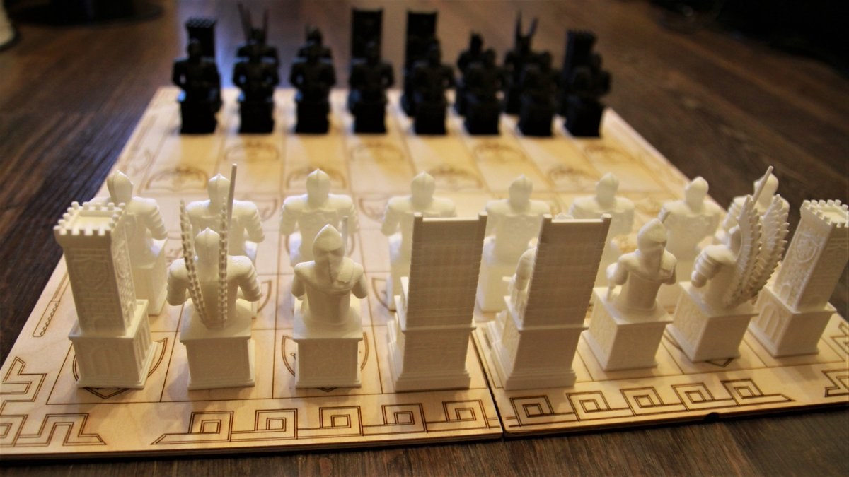 Chess Board Layout