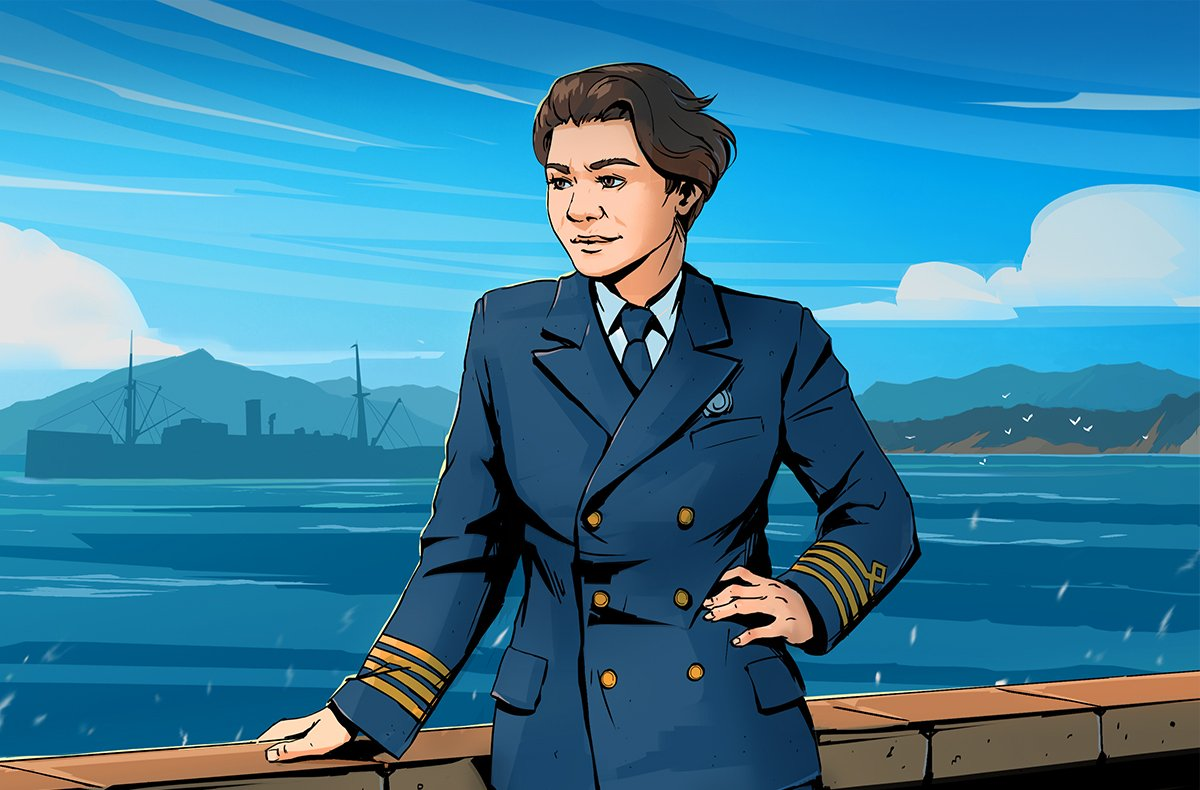 Salty Sea Captain