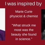 Image for the Tweet beginning: #IWD2018 #WomenInScience Female Role Model: