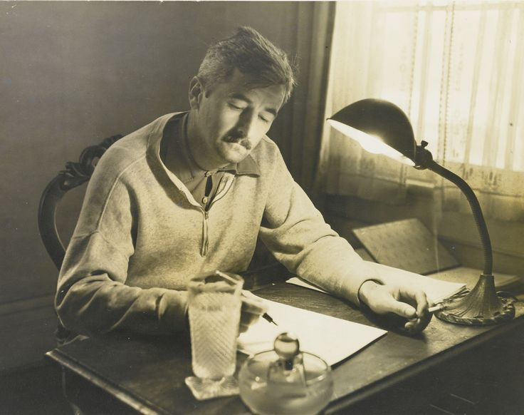 biographical essays on william faulkner Critical essay william faulkner's writing style bookmark this page manage my reading list however, some of his novels' narrative techniques are also present in the stories and include extended descriptions and details, actions in one scene that then recall a past or future scene, and complex sentence structure.
