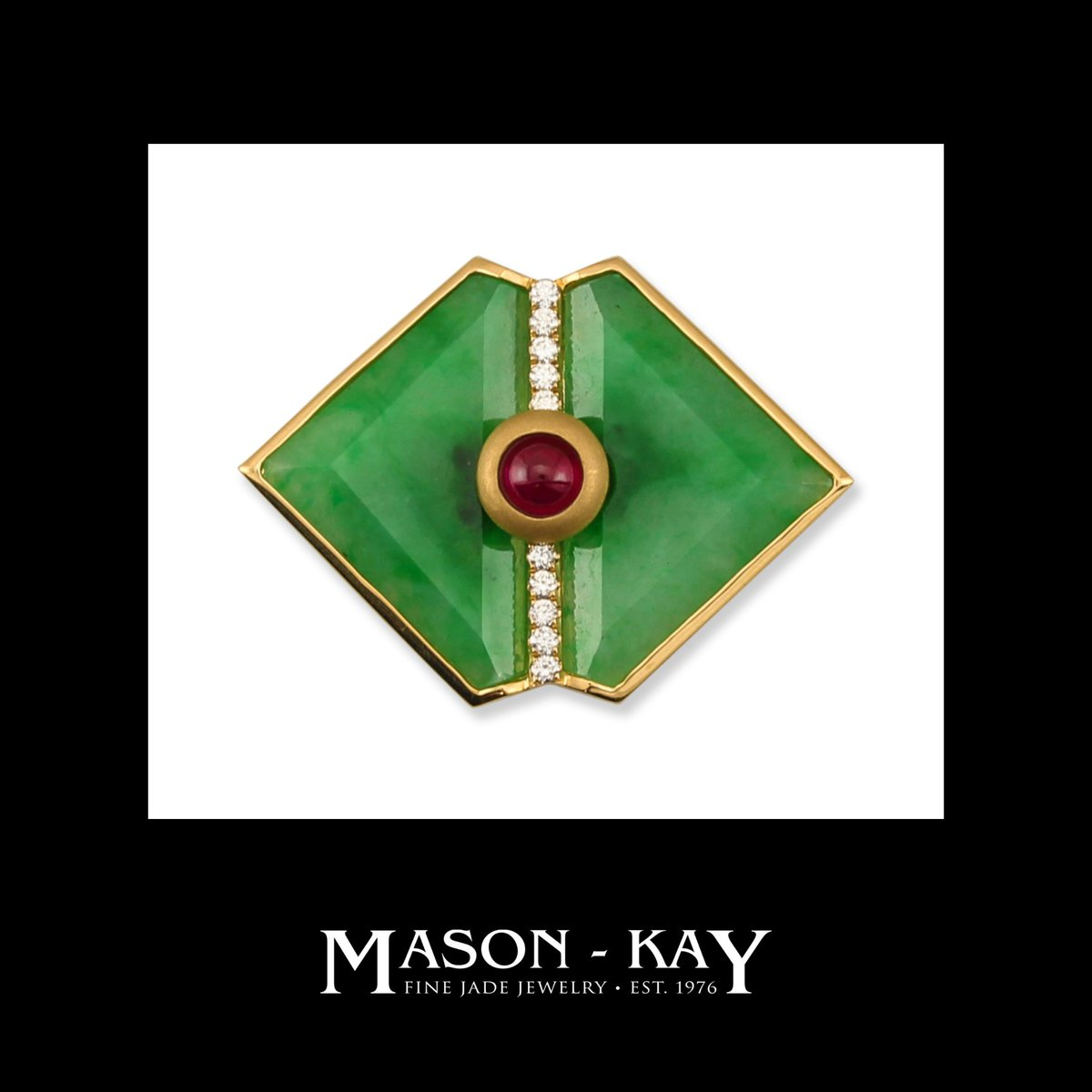 Mason Kay Jade Ar Twitter Two Mason Kay Jade Designs Featured In The Spring Issue Of Hong Kong Jewellery Magazine Our Beautiful Multi Stone Jade Sapphire Ruby Diamond Peacock Pin Pendant More