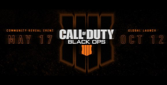 BREAKING NEWS: CALL OF DUTY: BLACK OPS 4 officially confirmed, available OCTOBER 12!! Reveal May 17 charlieintel.com/2018/03/08/bla…