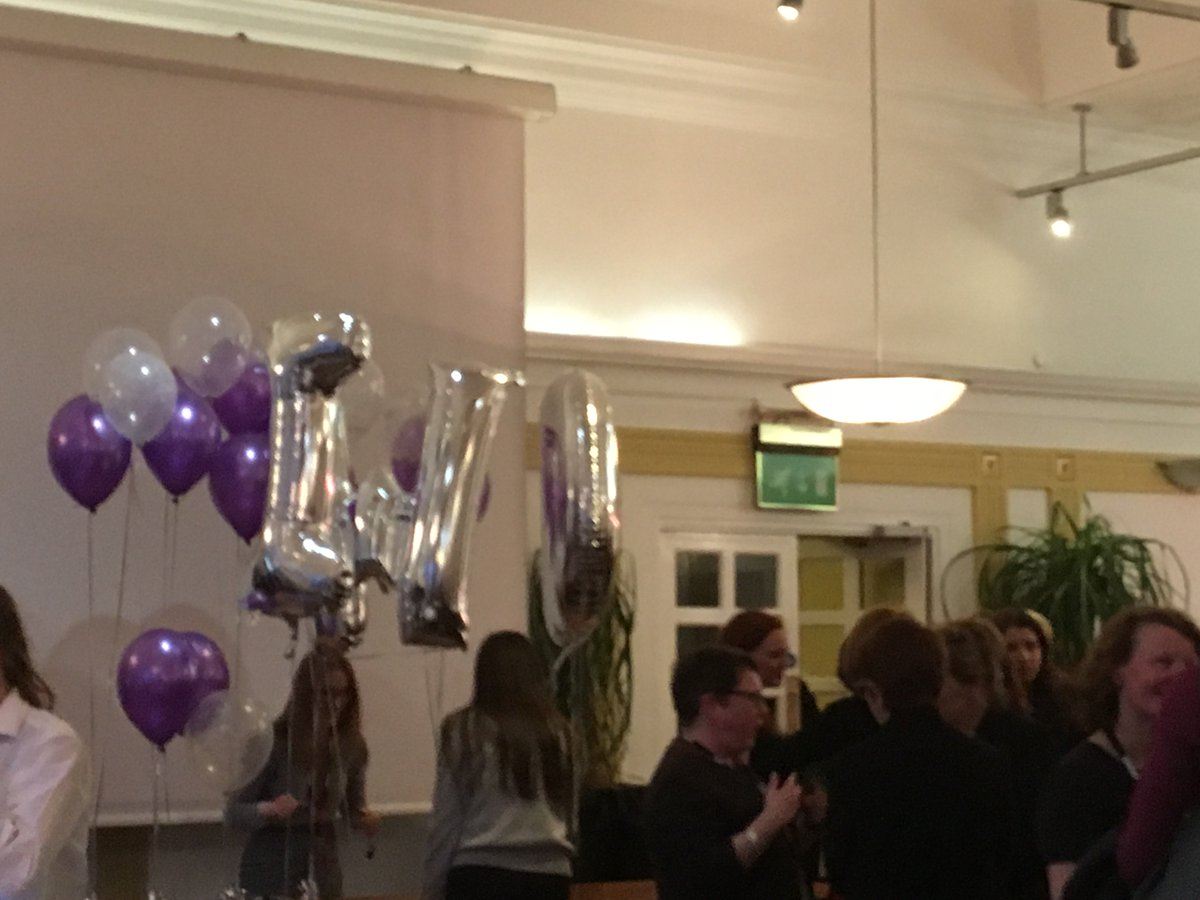 A wonderful evening celebrating #IWD18 with @NLGNthinktank !