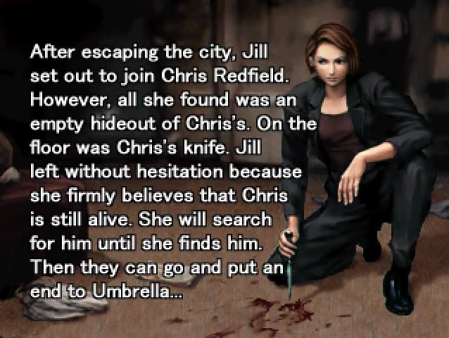 Its #FlashbackFriday! Heres one going all the way back to the epilogue of Resident Evil 3. Whats your favorite Resident Evil ending?