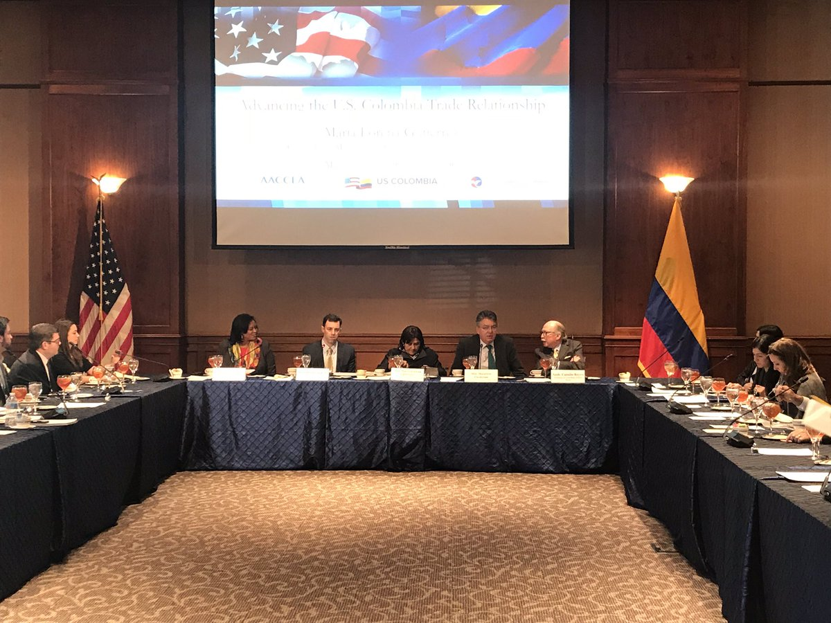 test Twitter Media - The @uschamber welcomes  Colombian Min. of Trade, Industry and Tourism, @mloreguti & Min. Of Finance @MauricioCard for a frank discussion on the US- #Colombia bilateral economic relationship. https://t.co/D6Cj8pmWFx
