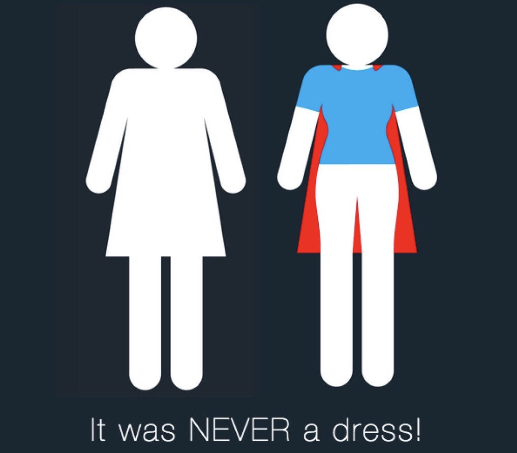 ... NEVER A DRESS And there is still a long way to go...  EQUAL  opportunities  jobs 3ee832479e733