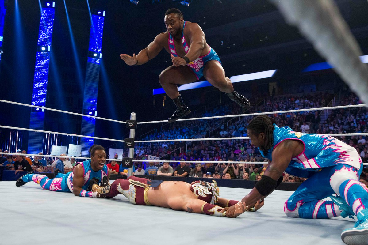 The book is vibrant and bursting with color on every page — just like the New Day! Review: wwe.me/xZUVdY