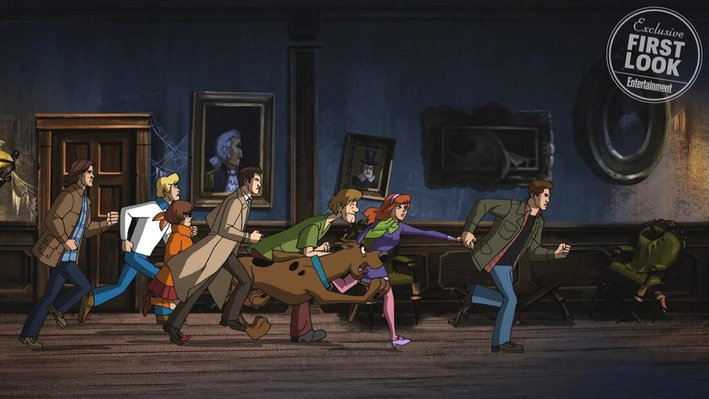 Saiu fotos do crossover de Supernatural e Scooby-Doo. DXyQ_MkW0AMUACi