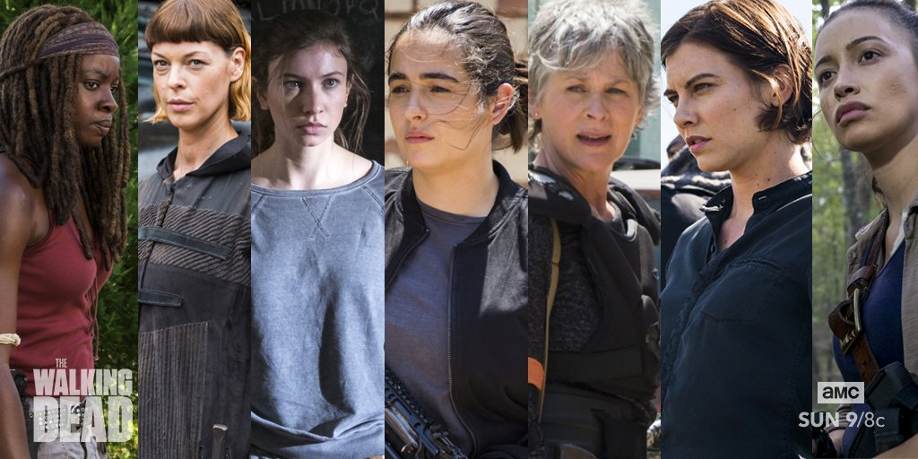 Nothing but respect for our women of #TWD#InternationalWomensDay