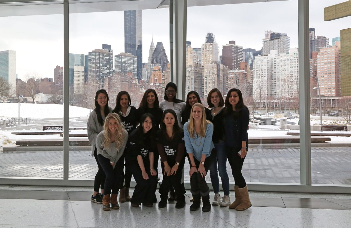 The future of tech is female. Happy #InternationalWomensDay! #WiTNY #womenintech
