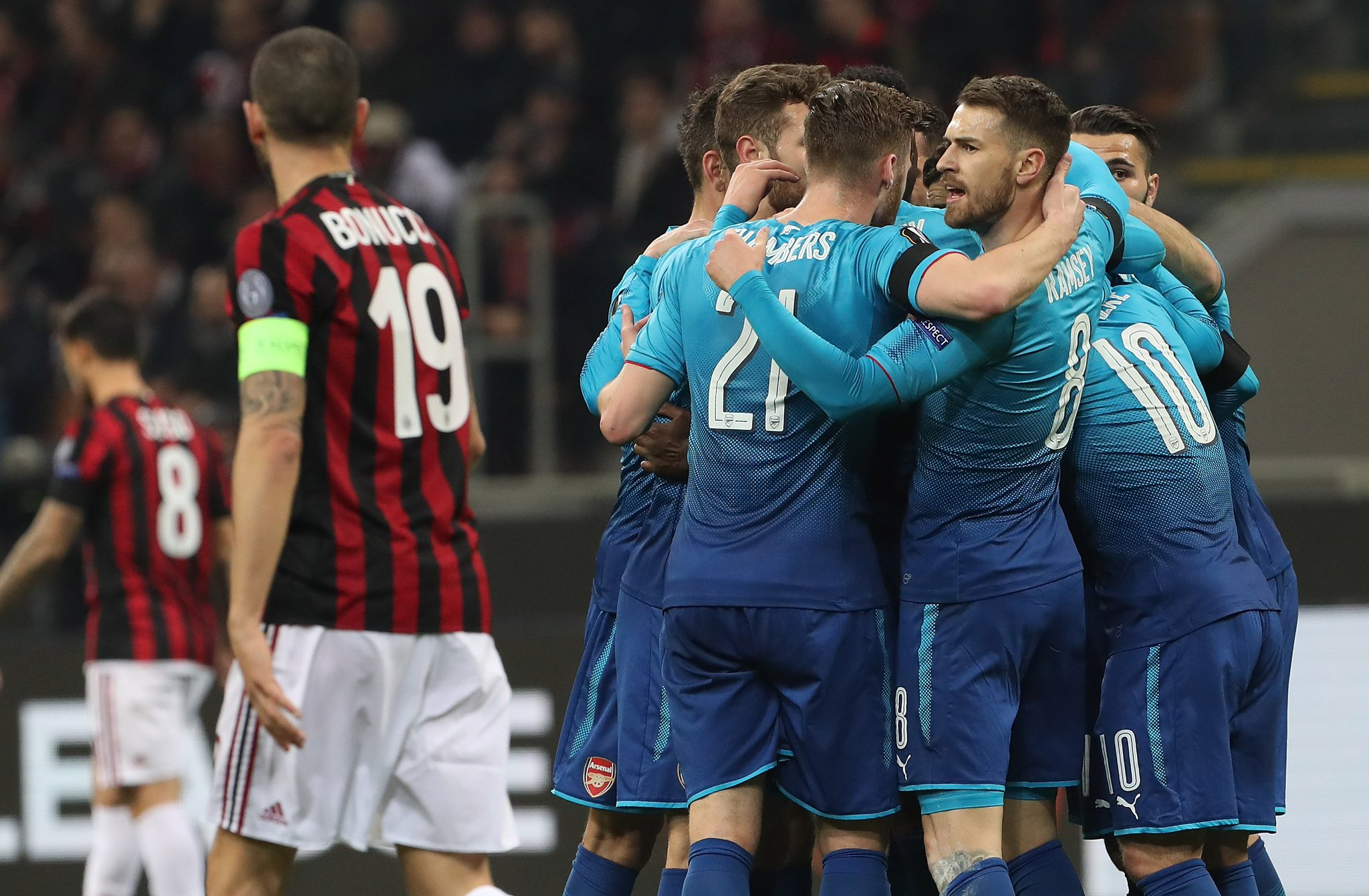 AC Milan vs Arsenal 0-2 Highlights