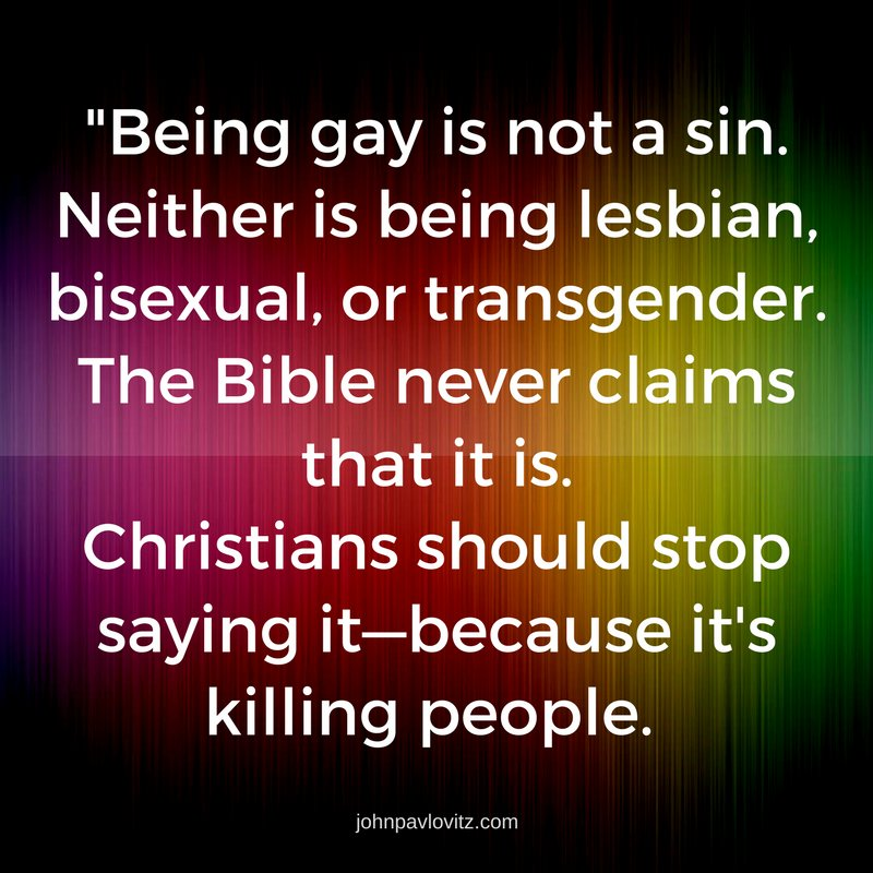 Is Being Transgender A Sin