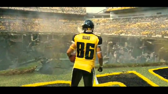 Happy Birthday, Hines Ward!   Try to avoid Bane today.